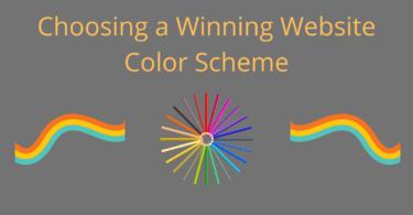 Choosing a Winning Website Color Scheme
