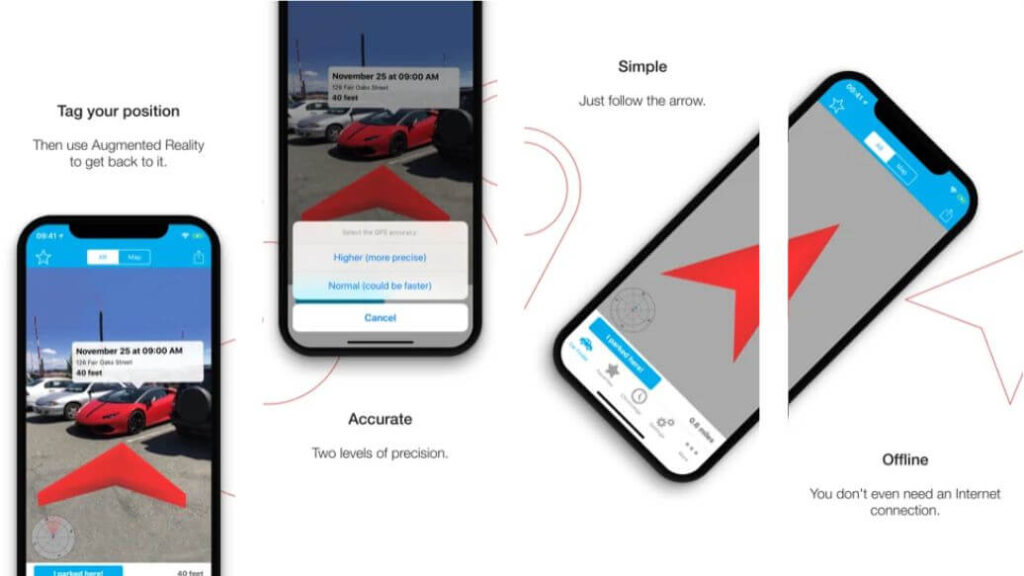 Augmented Car Finder