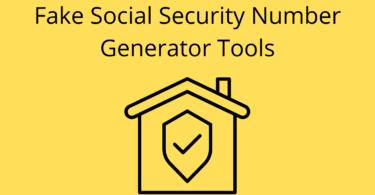 Fake Social Security Number Generator Tools
