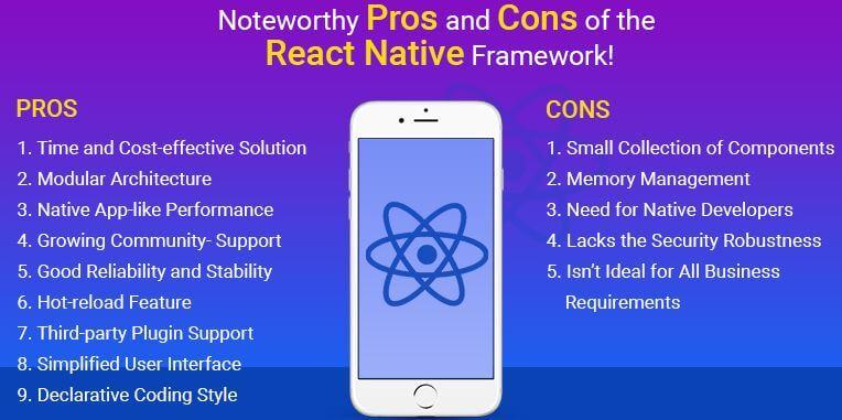 React Native pro cons