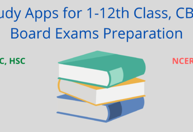 Study Apps for 10th, 12, CBSE Board Exams