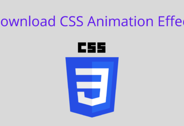 Websites to Download CSS Animation Effect