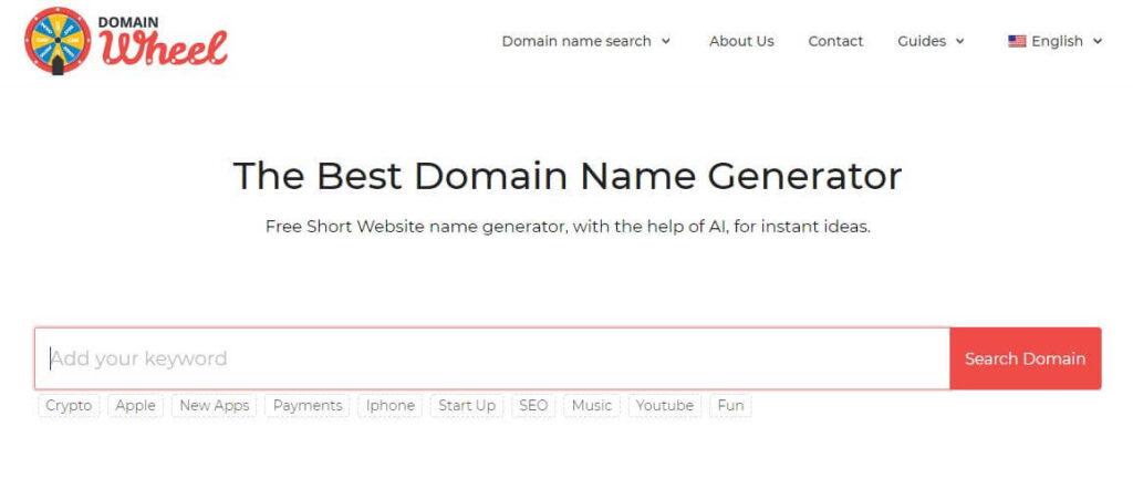 domainwheel - Generate YouTube Channel Name