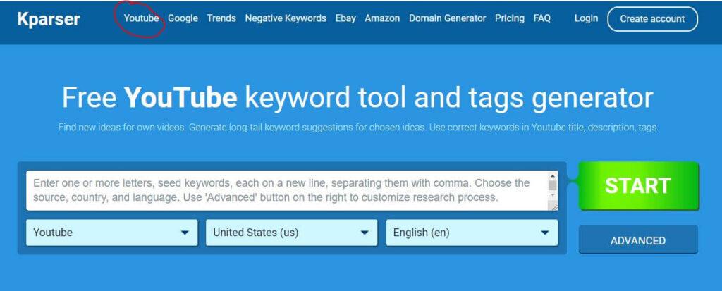 kparser-YouTube Channel Name Generator Tools online