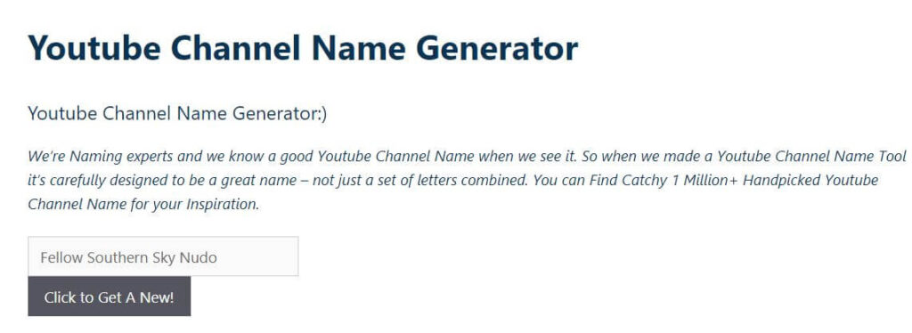 thebrandboy- Generate YouTube Channel Name