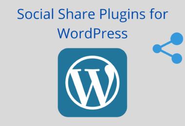 Social Share Plugins for WordPress
