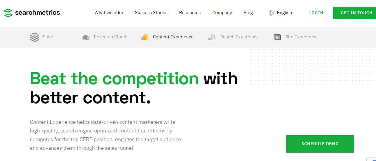 searchmetrics-Best Free SEO Content Readability Checker Tools Online