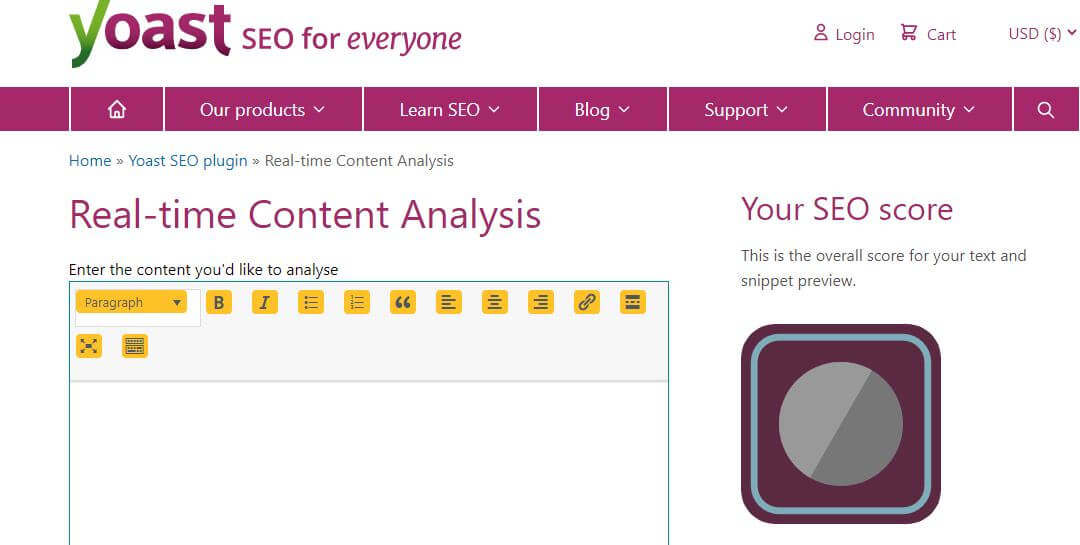 yoast-Best Free SEO Content Readability Checker Tools Online