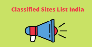 Classified Sites List India