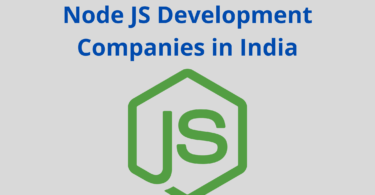 Node JS Development Companies in India