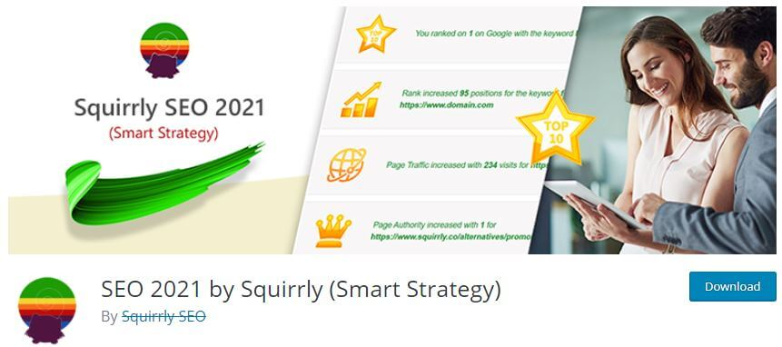 SEO 2021 by Squirrly (Smart Strategy)