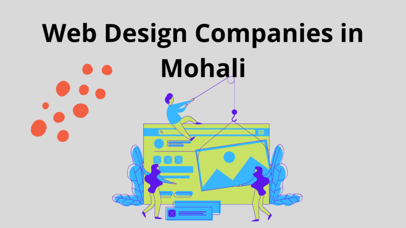 List of Web Design Companies in Mohali