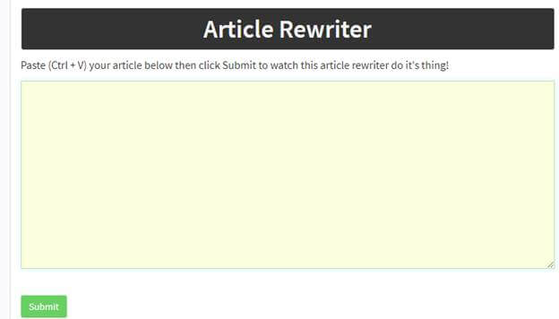 seotoolstation - Article rewriter SEO tool